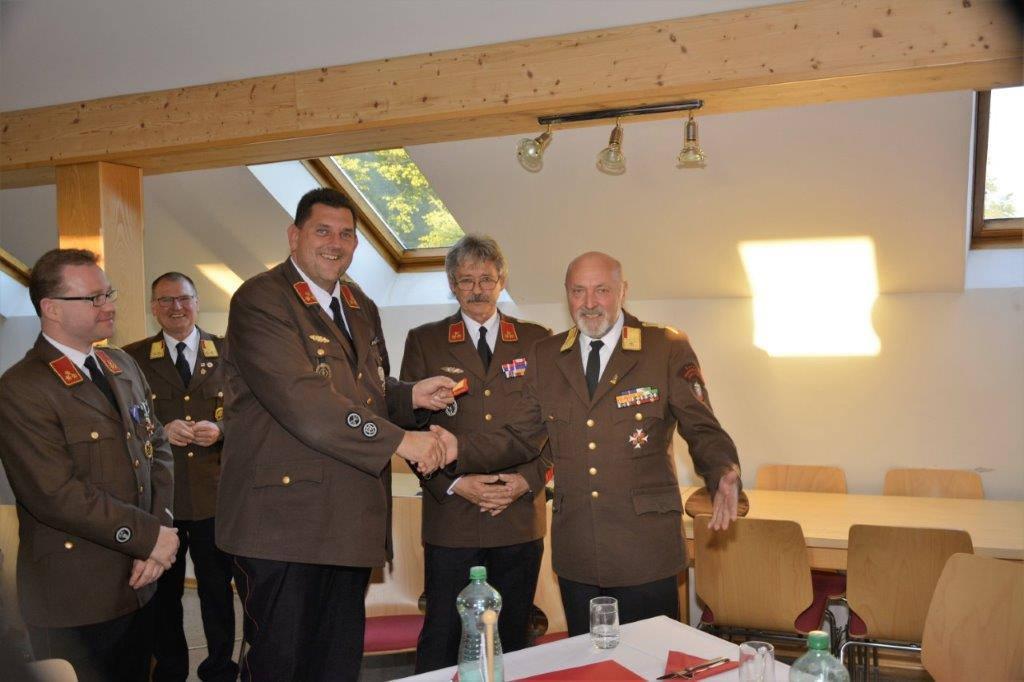 Neuwahl des Abschnittskommandanten im Abschnitt 3