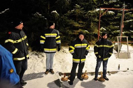 Abschnittsturnier im Eisstockschießen