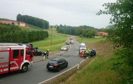 Schwerer Verkehrsunfall in Krumegg