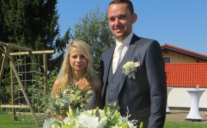 Hochzeit unseres Feuerwehrkommandanten Christoph Rosenberger und seiner Bianca