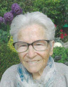 Wir trauern um Frau Maria Reiter aus Dornegg