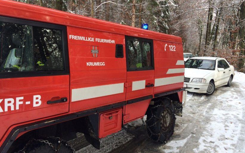 Mehrere Einsätze aufgrund des Schneefalls