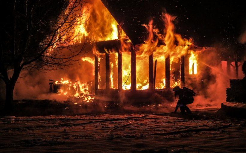 Wohnhausbrand in Dornegg