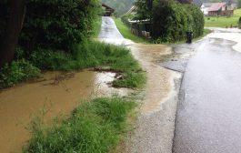 Straßenreinigungen nach Starkregen
