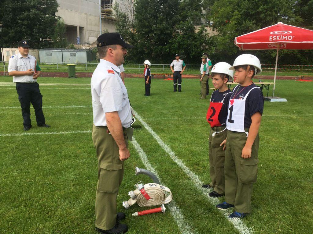 Feuerwehrjugendleistungsbewerb des Bereiches Graz-Umgebung