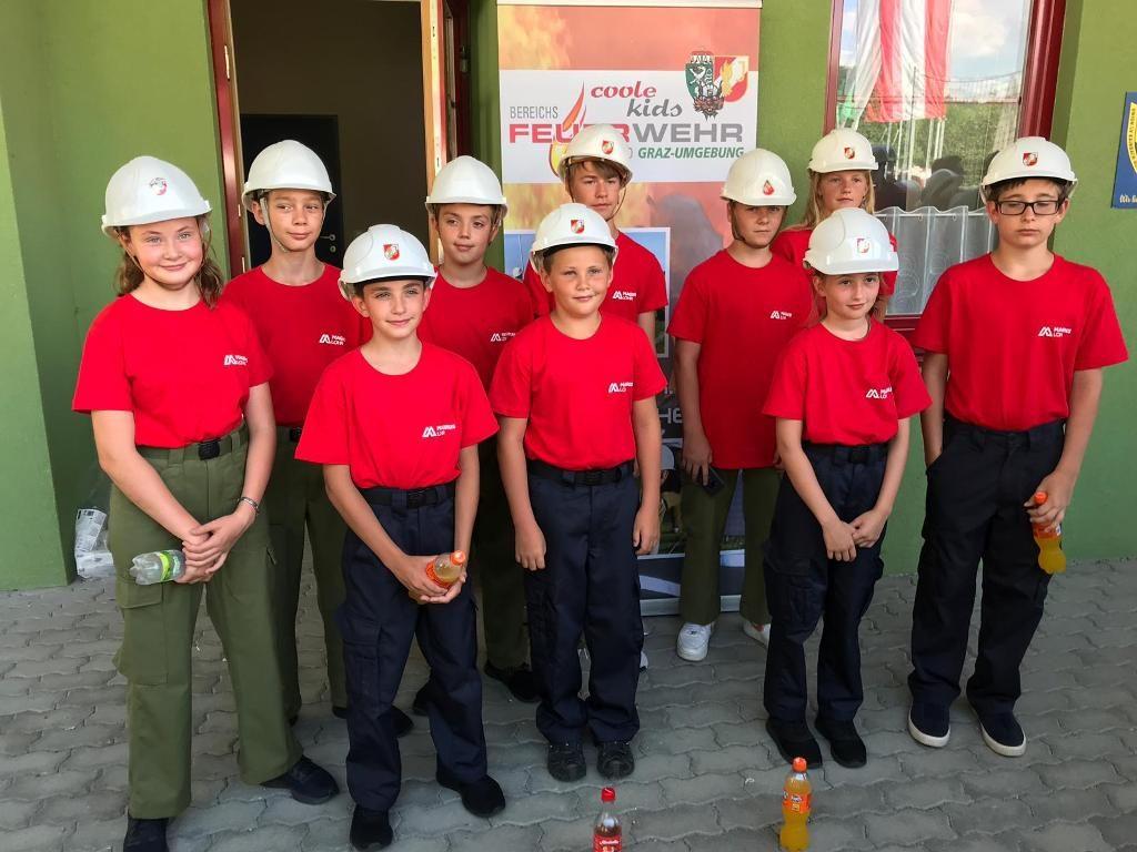 Bereichsfeuerwehrjugend-Leistungsbewerb in Kainbach