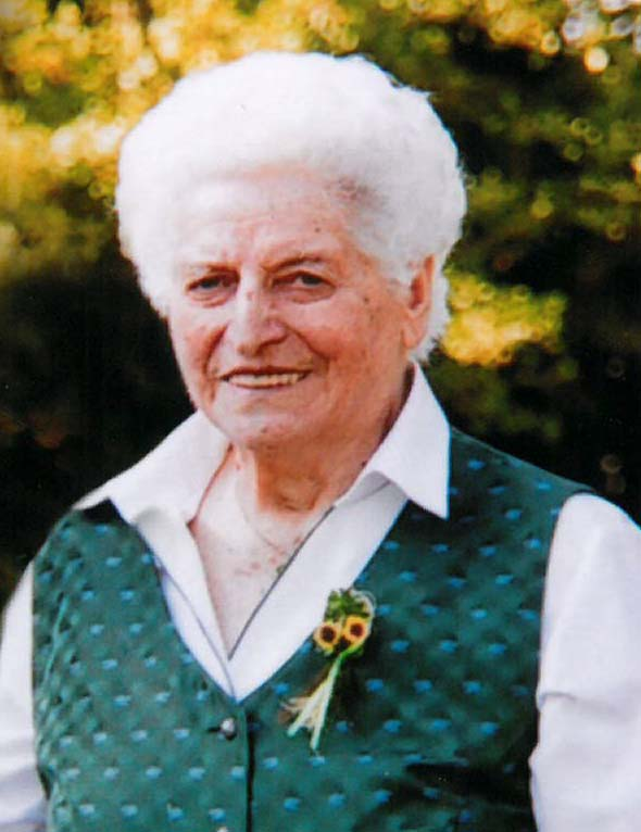 Wir trauern Frau  Theresia Maitz aus Edelsgrub