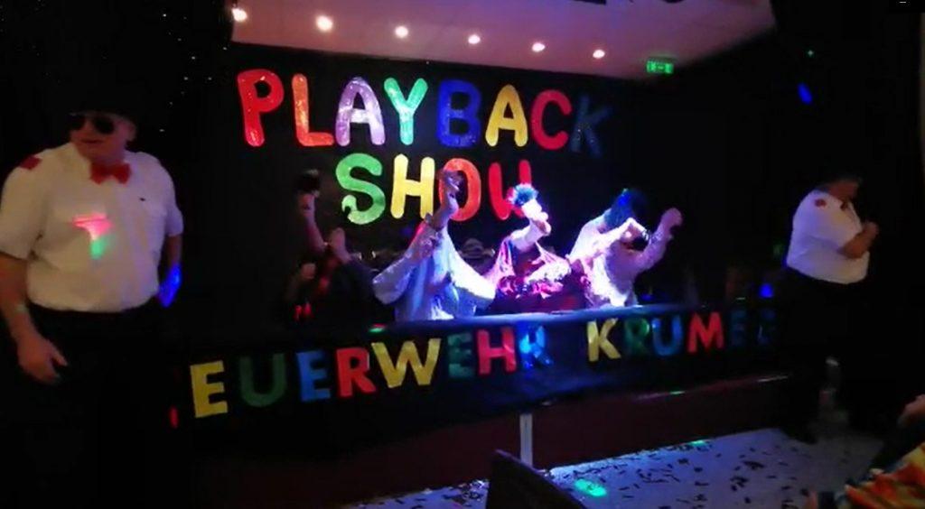Playbackshow des SV Krumegg