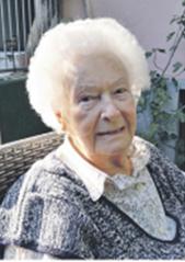Wir trauern um Frau Gertrude Jüttner aus Kocheregg