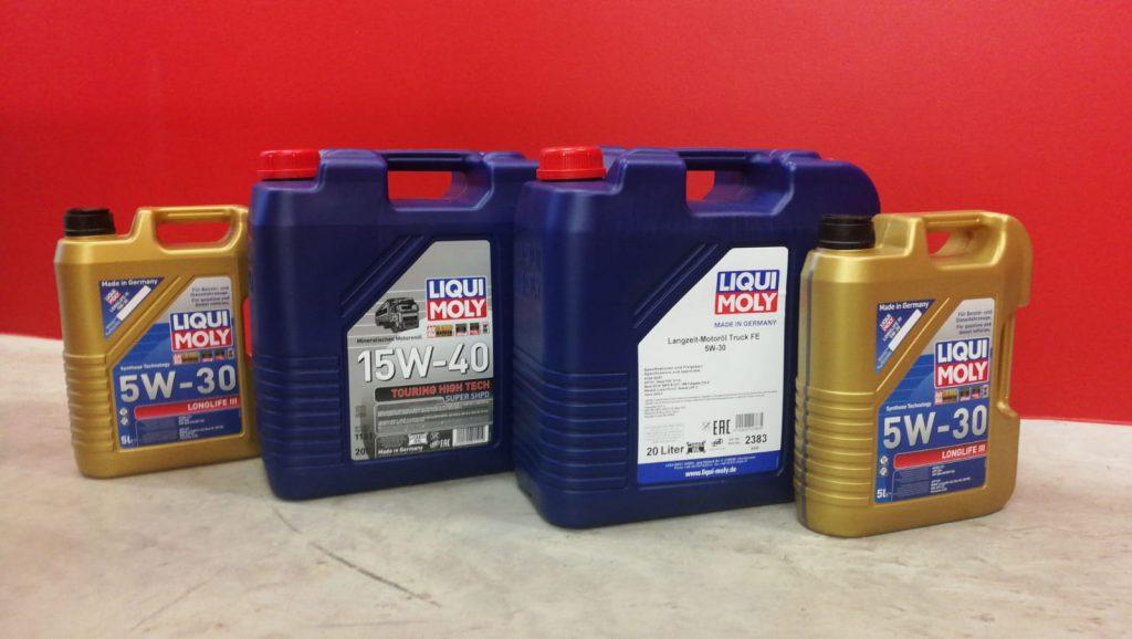 Liqui Moly unterstützt die FF-Krumegg mit Motoröl