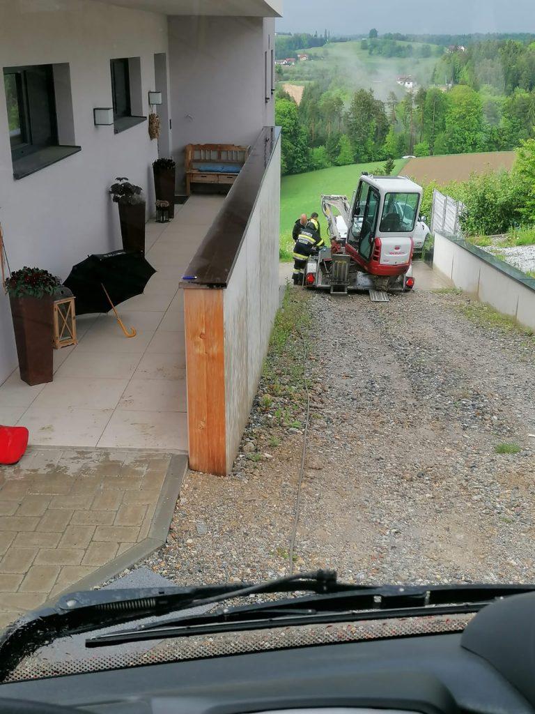Ölbindearbeiten in Kohldorf