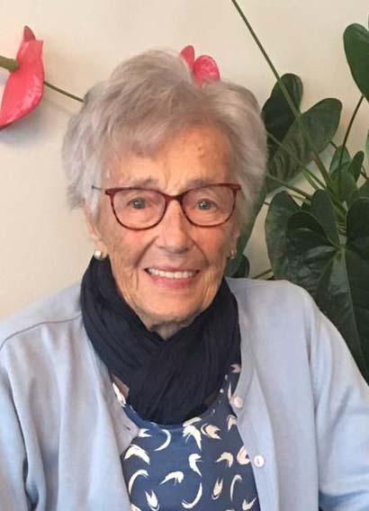 Wir trauern um Frau Olga Schönberger als Kocheregg